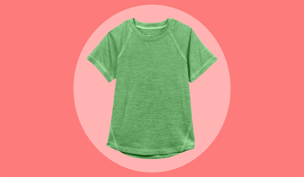 These Cooling Shirts for Kids Make Summer Heat Waves Bearable