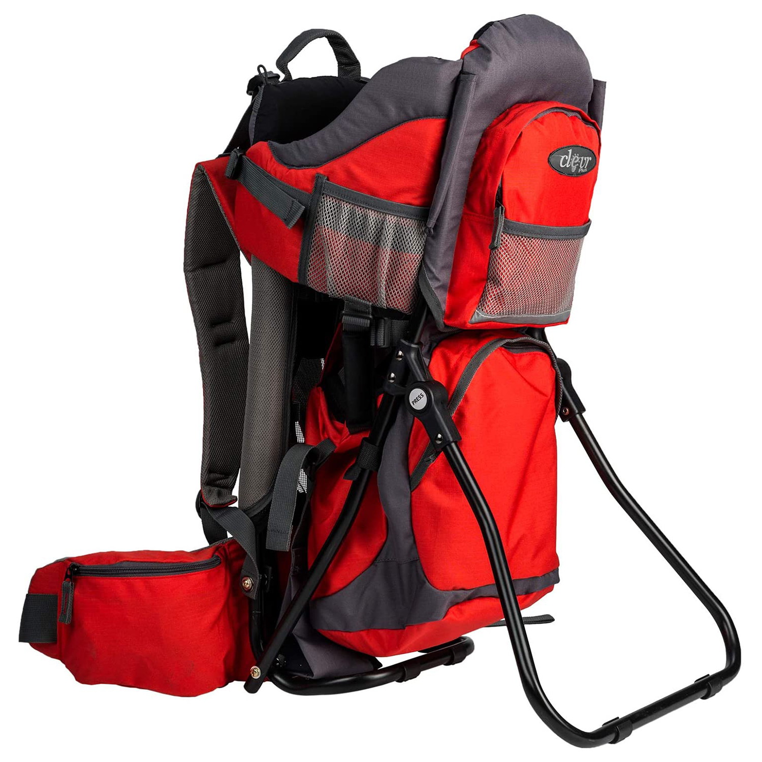 Hiking Baby Carrier With Bells and Whistles (Runner-Up): Clevr Canyonero Camping Backpack