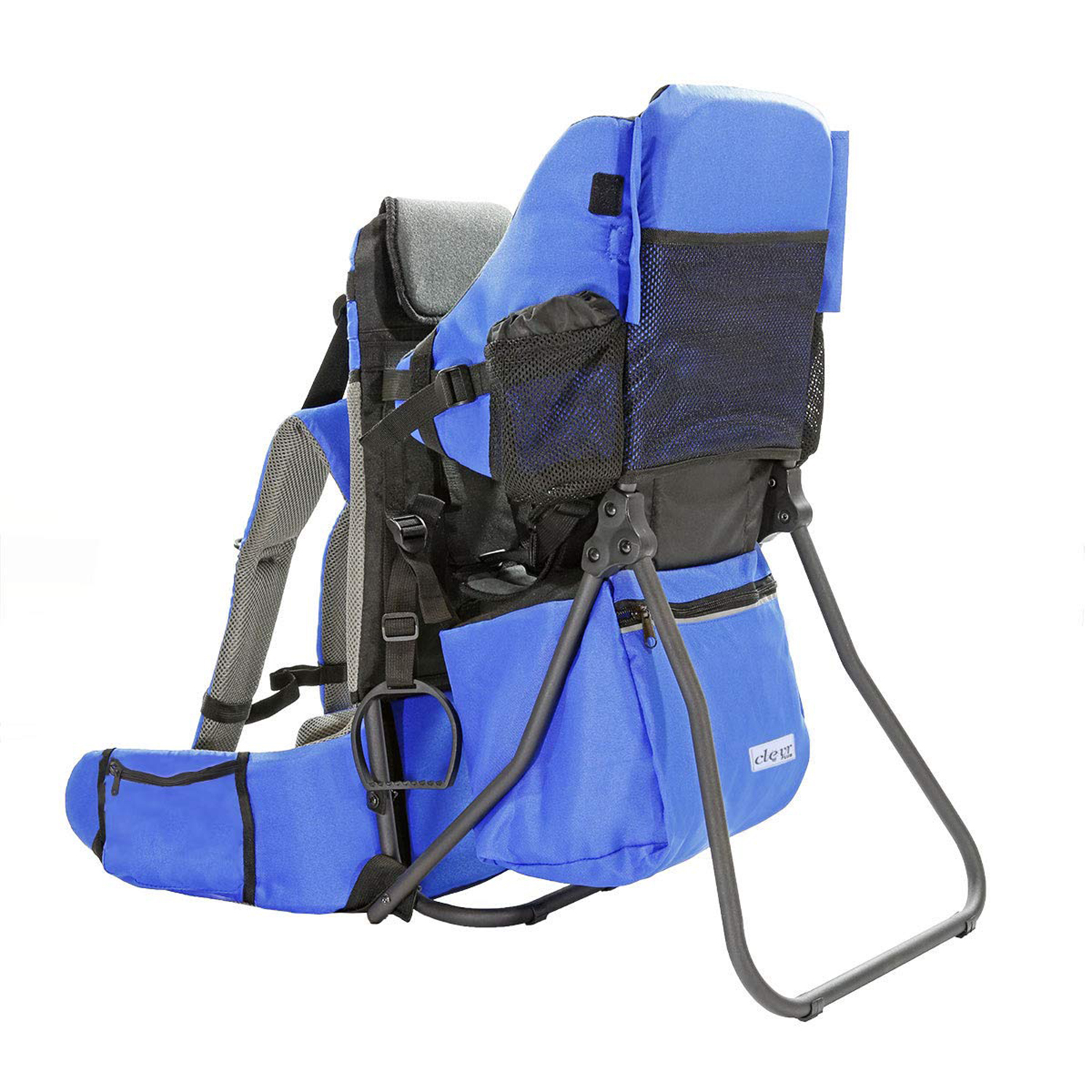 Best Hiking Backpack Carrier With Storage Space (Runner-Up): ClevrPlus Cross Country Baby Backpack