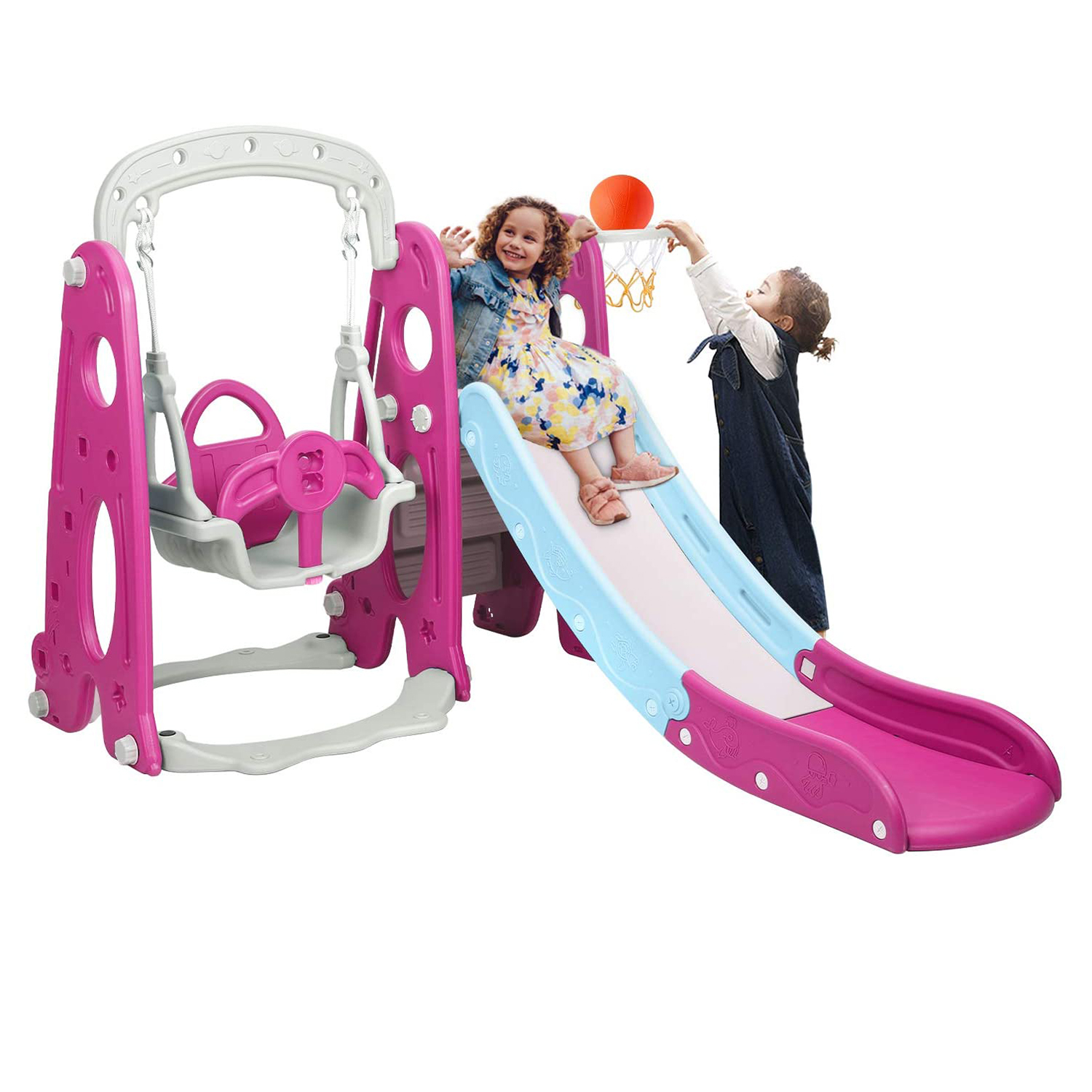 Best Outdoor Baby Toy: Bahom 3-in-1 Playset