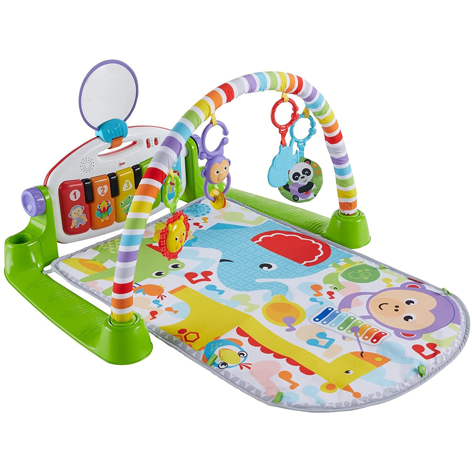 Best Toy for 6-Month-Olds: Fisher-Price Deluxe Kick & Play Piano Gym