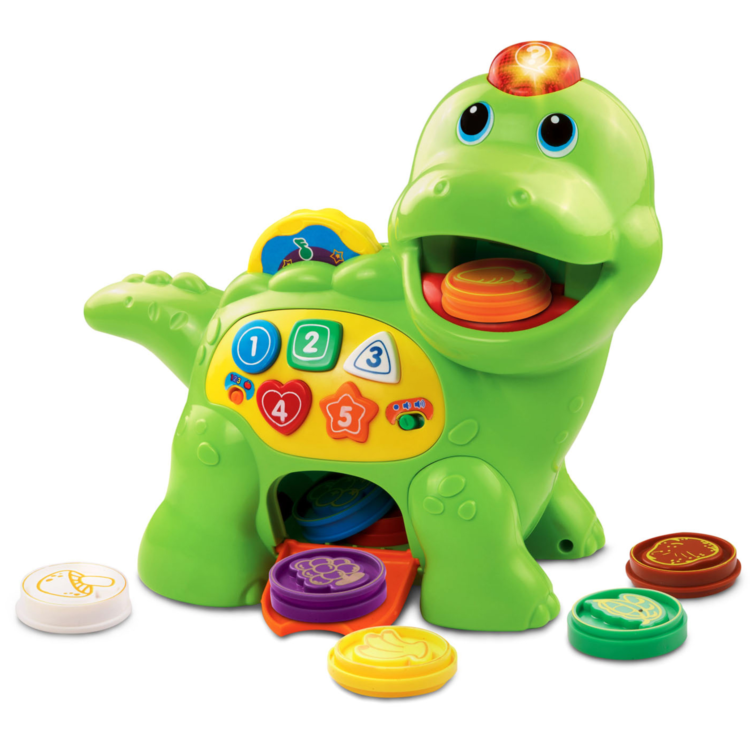 Best Toy for 12-Month-Olds: VTech Count and Chomp Dinosaur Learning Toy