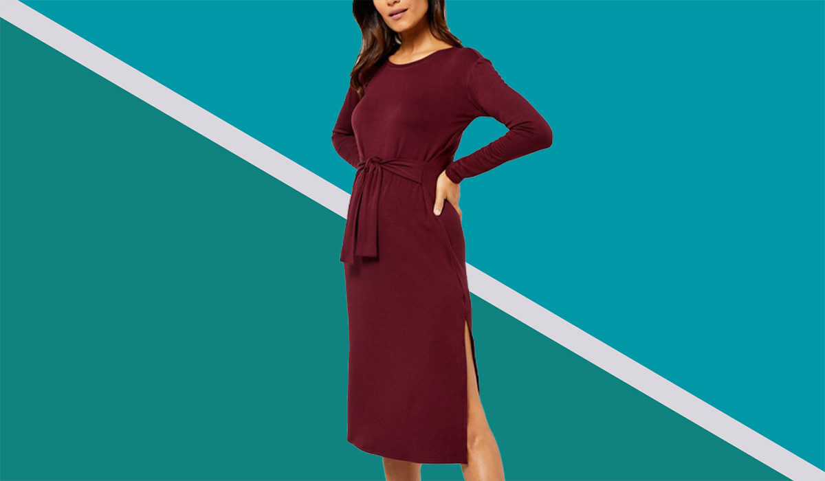 A Stylist Explains Why These 15 Fall Dresses and Sweaters Belong in Your Pregnancy and Postpartum Wardrobe