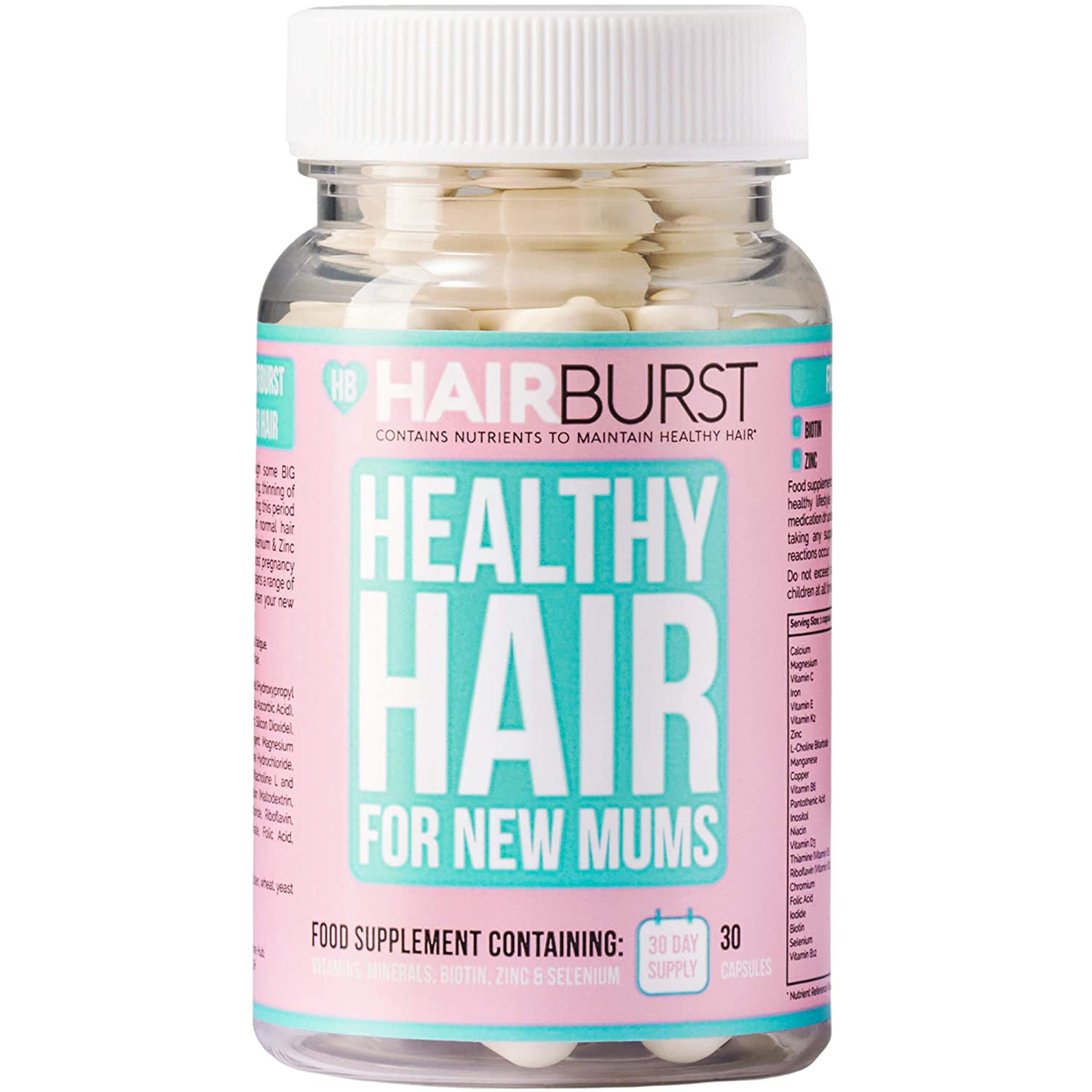 Hairburst Healthy Hair for New Mums
