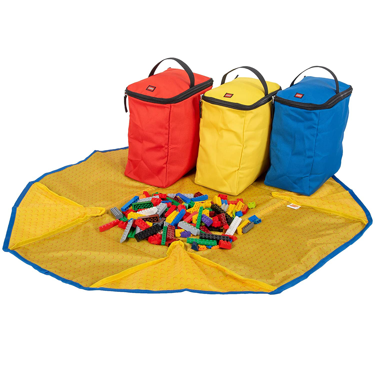 Best Lego Storage Tote: Lego Storage 4-Piece Tote and Play Mat
