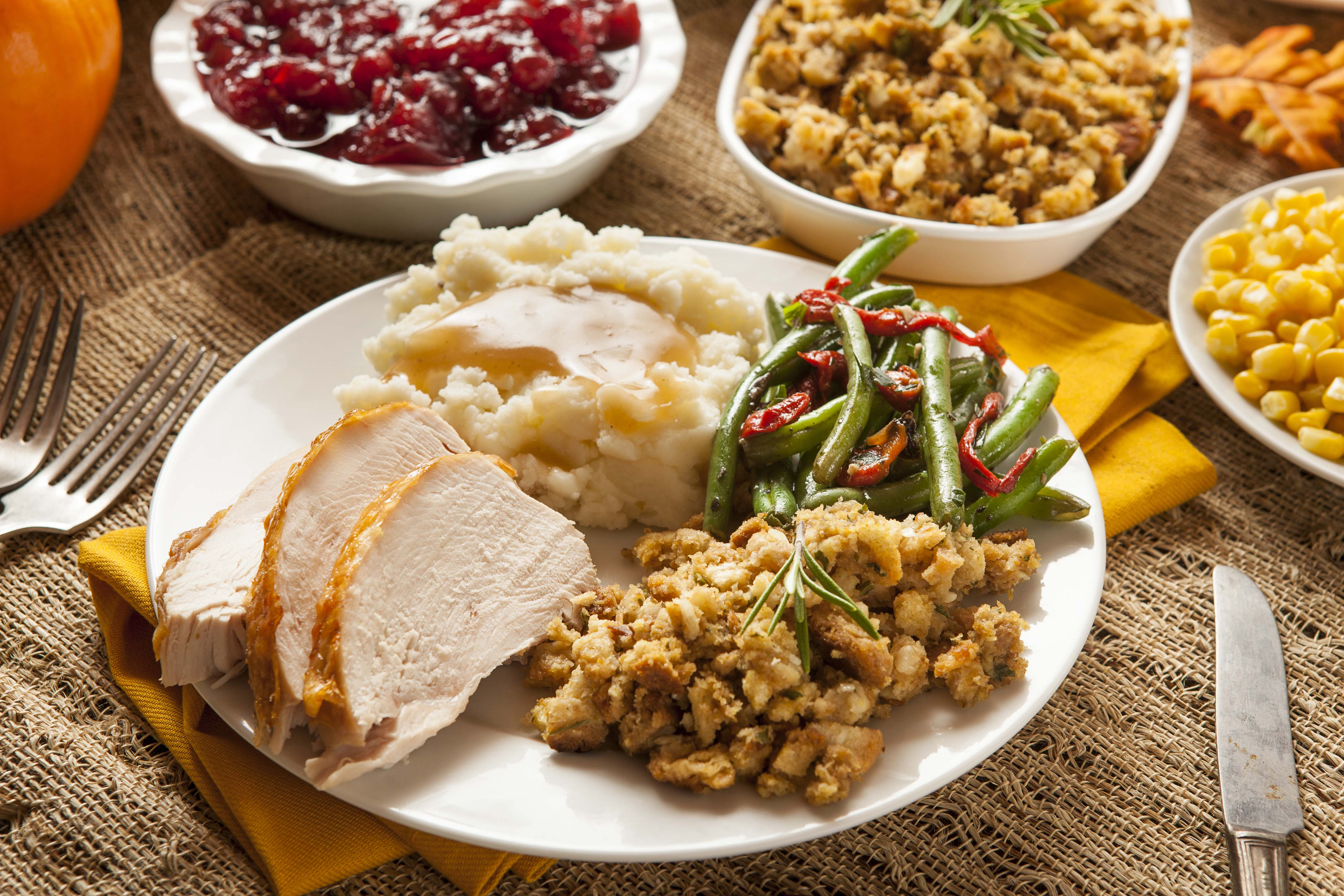 Thanksgiving Turkey and Stuffing Feast + A Week of Leftover Dinners