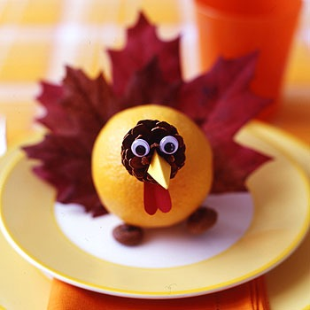 Easy Turkey Pinecone Craft for Kids