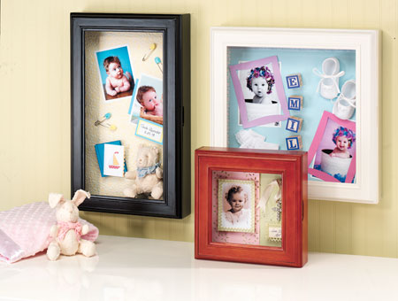 Great New Ways to Display Your Baby Photos