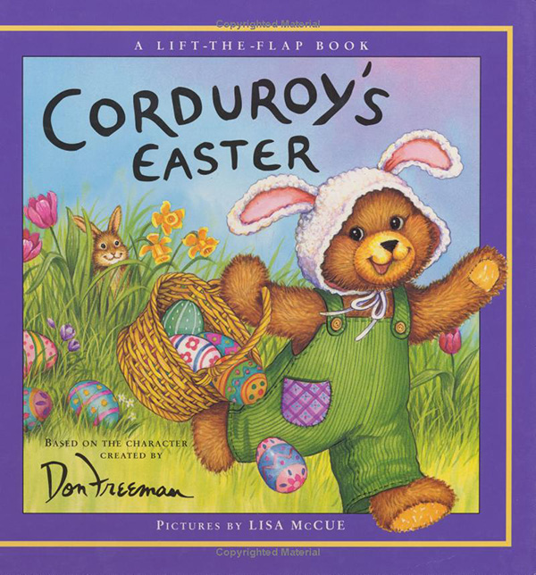 Corduroy's Easter Lift-the-Flapby Don Freeman