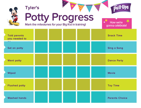 Pull-Ups Site Helps Toddlers Master Potty Training