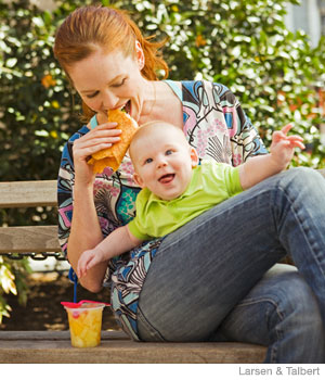 The Hungry New Mom's Diet Plan