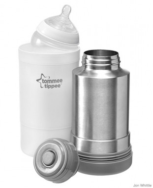 Tommee Tippee's travel bottle and food warmer