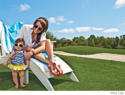 13 Bright Summer Looks for Baby (and You!)