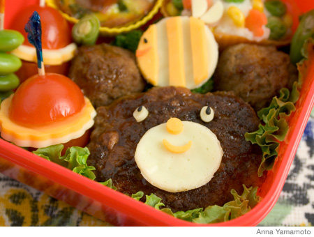 How to Make a Bear Bento Lunch Box