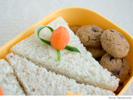 How to Make a Cake Bento Lunch Box
