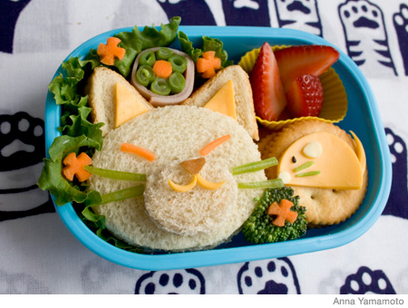 How to Make a Cat Bento Lunch Box