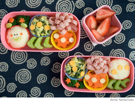 How to Make a Caterpillar Bento Lunch Box