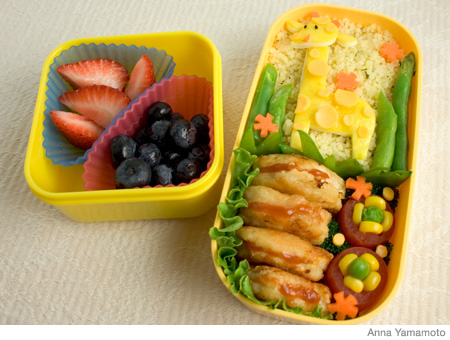 How to Make a Giraffe Bento Lunch Box