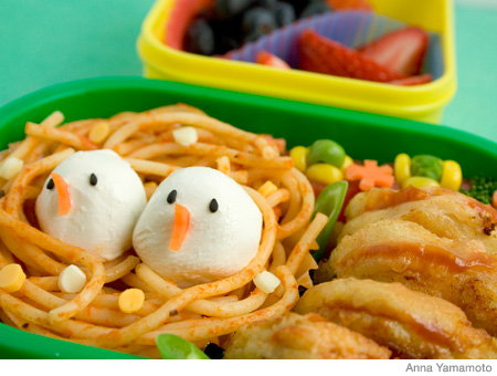 How to Make a Bird's Nest Bento Lunch Box