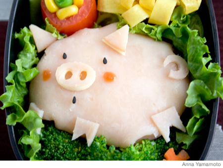 How to Make a Piggy Bento Lunch Box