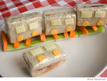 How to Make a Train Bento Lunch Box