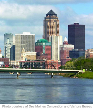 Best Cities 2010: Des Moines, IA