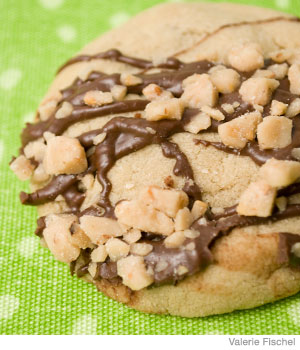 Cookie Recipe: Caramel and Chocolate-Filled Cookies