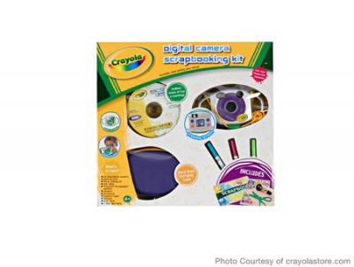 For Preschoolers: Crayola Digital Camera Scrapbooking Kit