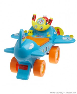 For Toddlers: Sesame Fly with Elmo Ride-On
