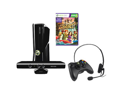 For Big Kids: Xbox 360 with Kinect
