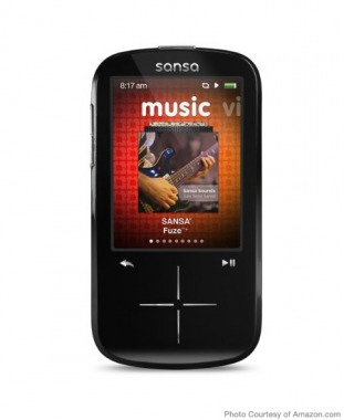 For Big Kids: SanDisk Fuze+ MP3 Player
