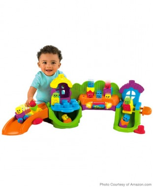 For Toddlers: Fisher Price Stack 'n Surprise Blocks Songs 'n Smiles Sillytown