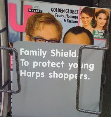Grocery Store Censors Gay Parenting