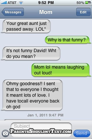 When Bad Texts Happen to Good Parents
