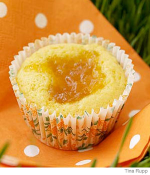 Peachy Muffin-Cakes