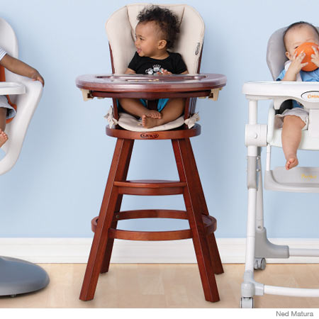 Graco's Classic Wood High Chair