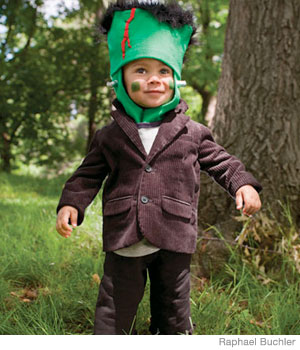 Freakin' Cute Frankenstein Halloween Costume