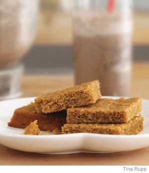 The Sneaky Chef: Peanut Butter Blondies