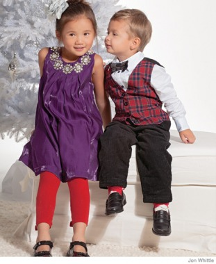 Dressy Holiday Clothes for Kids