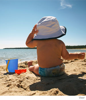 4 Tips for Beach Trips with Your Baby