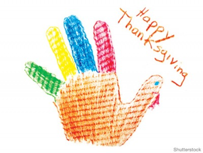 Thanksgiving Craft Ideas Hand Turkey Craft