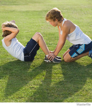 Fit Generation: 9 Muscle-Building Moves for School Years Kids