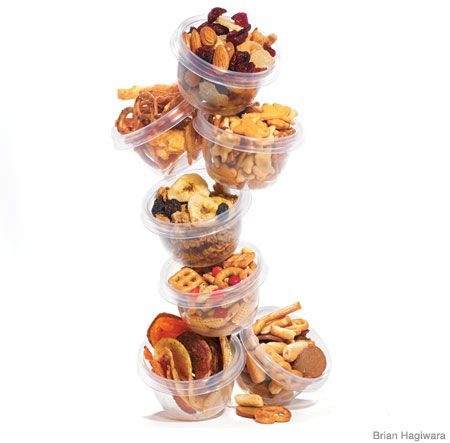 7 Delish Snack Mixes