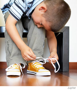 What Can Your Two-Year-Old Do – Tie Shoes or Play with Your iPhone?