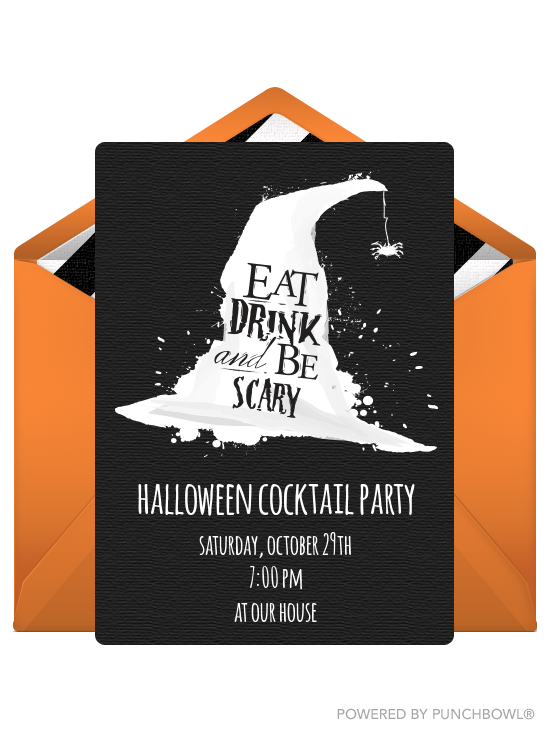 16 Spooky and Spectacular Halloween Party Invitations