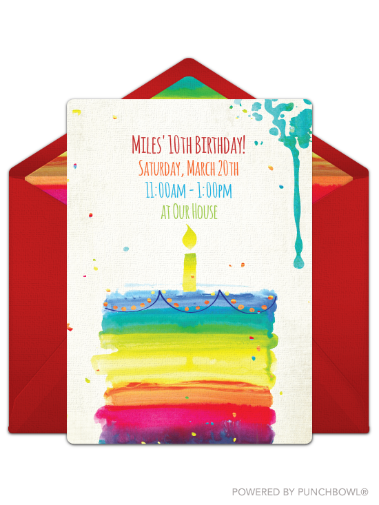 16 Perfect Birthday Party Invitations For Kids Of All Ages