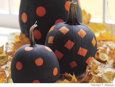 Thanksgiving Craft ideas Painted Pumpkins
