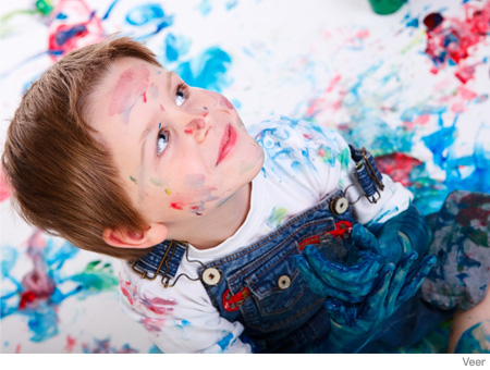 Christmas and Holiday Crafts for Kids Snow Paint