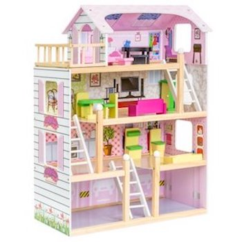 Best Choice Products Kids Wooden Cottage