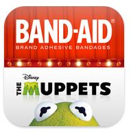 Kids' App of the Week: BAND-AID® Brand Magic Vision App featuring Disney's The Muppets